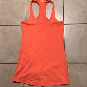 Lululemon CRB neon orange